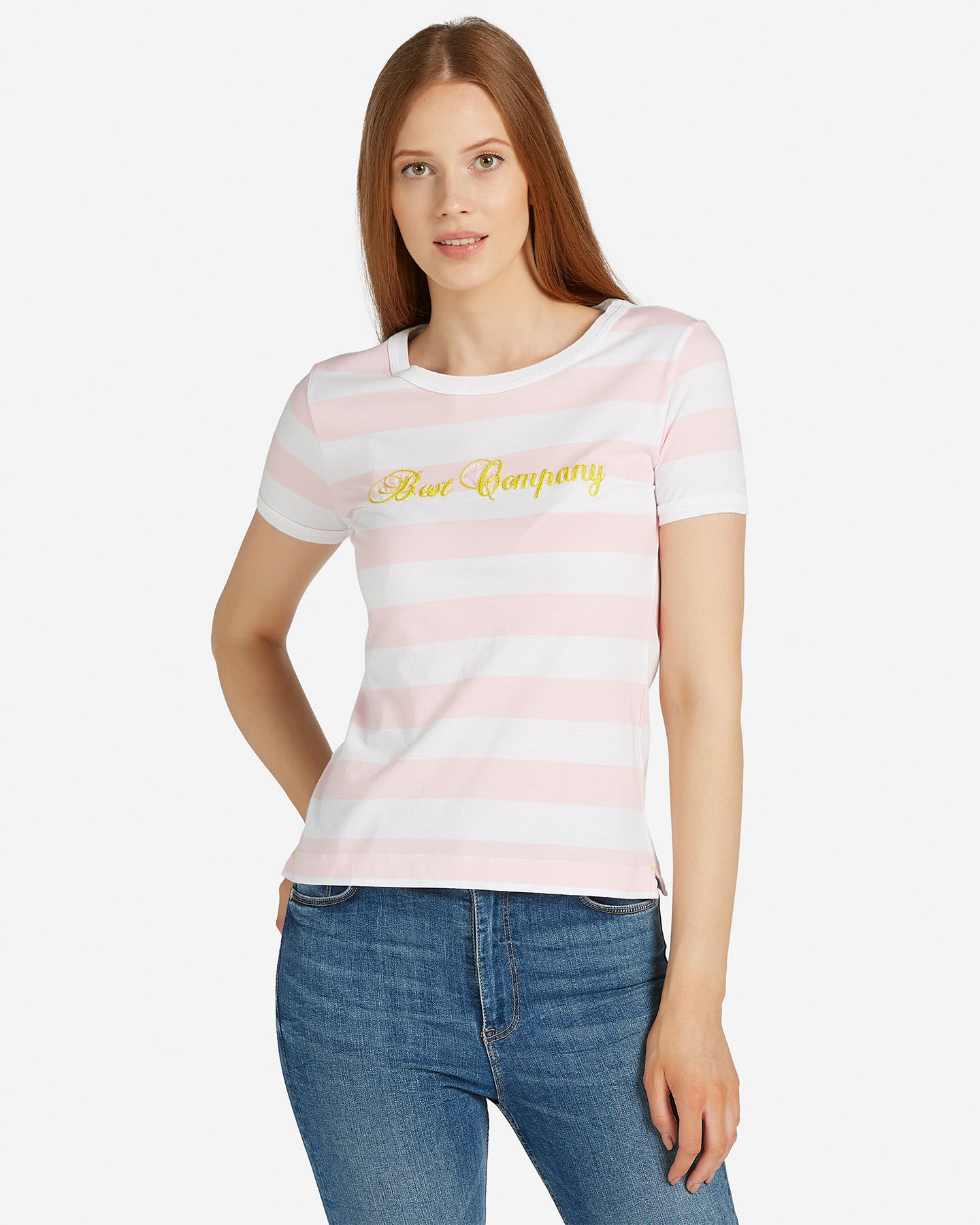 T-Shirt BEST COMPANY STRIPES W S4064575 scatto 0