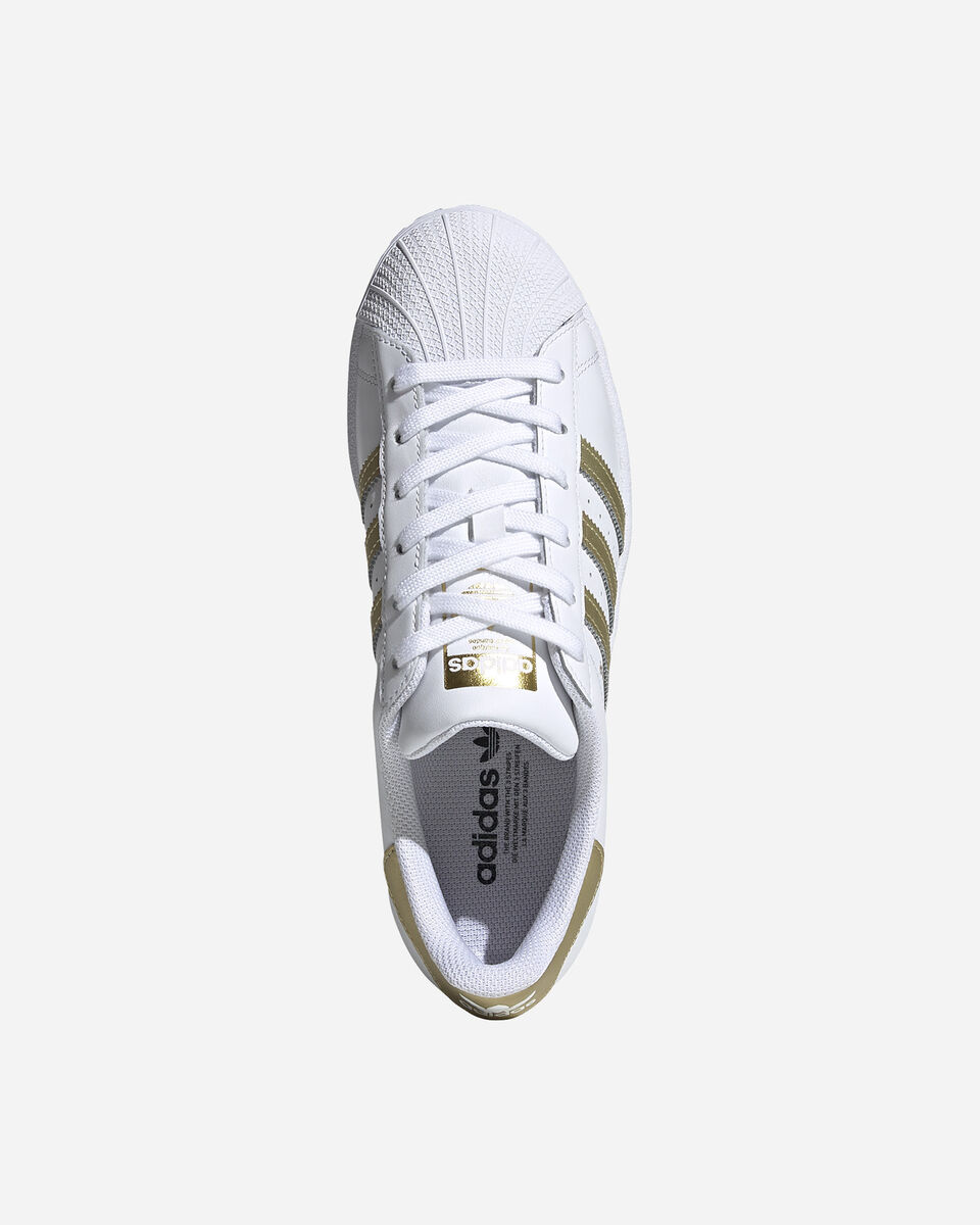 Scarpe sneakers ADIDAS SUPERSTAR W S5209807 scatto 2