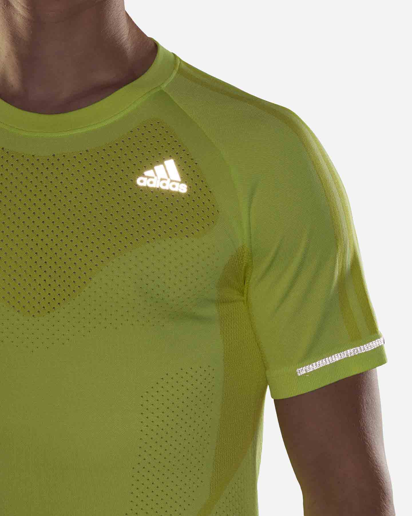 T-Shirt running ADIDAS PRIMEKNIT M S5275149 scatto 7