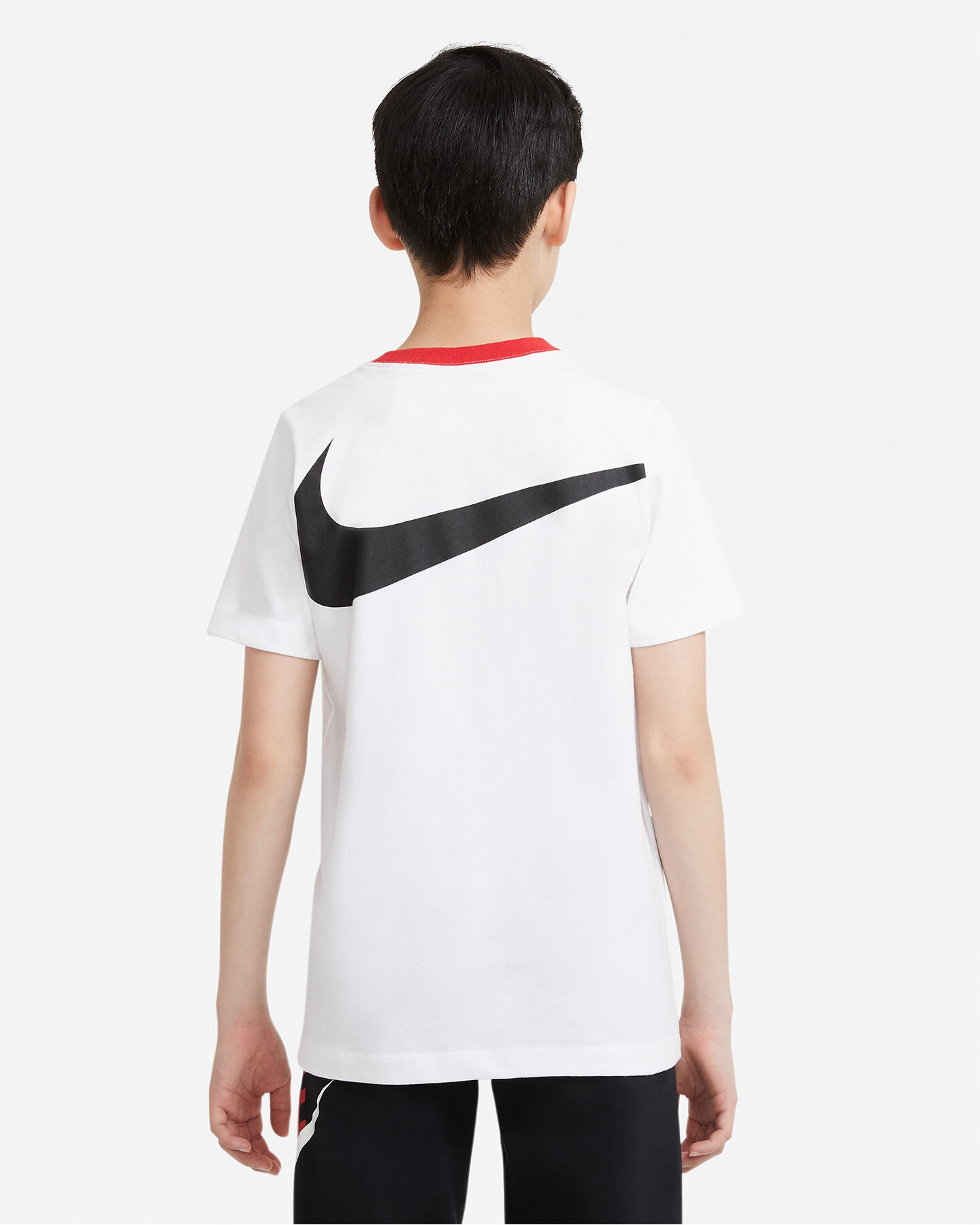 T-Shirt NIKE BIG SWOOSH BACK JR S5270253 scatto 1
