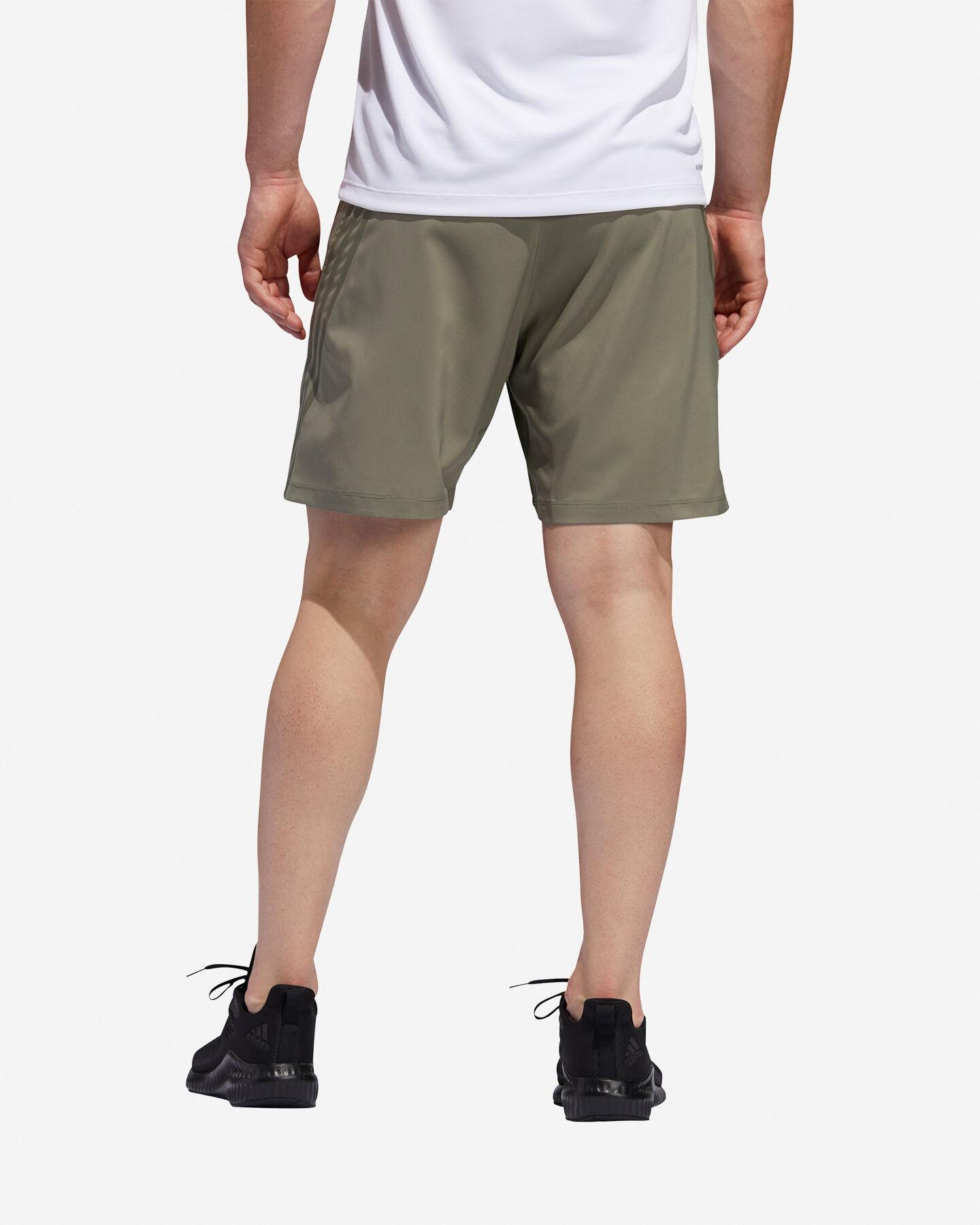 Pantalone training ADIDAS AEROREADY 3-STRIPES 8-INCH M S5154649 scatto 4