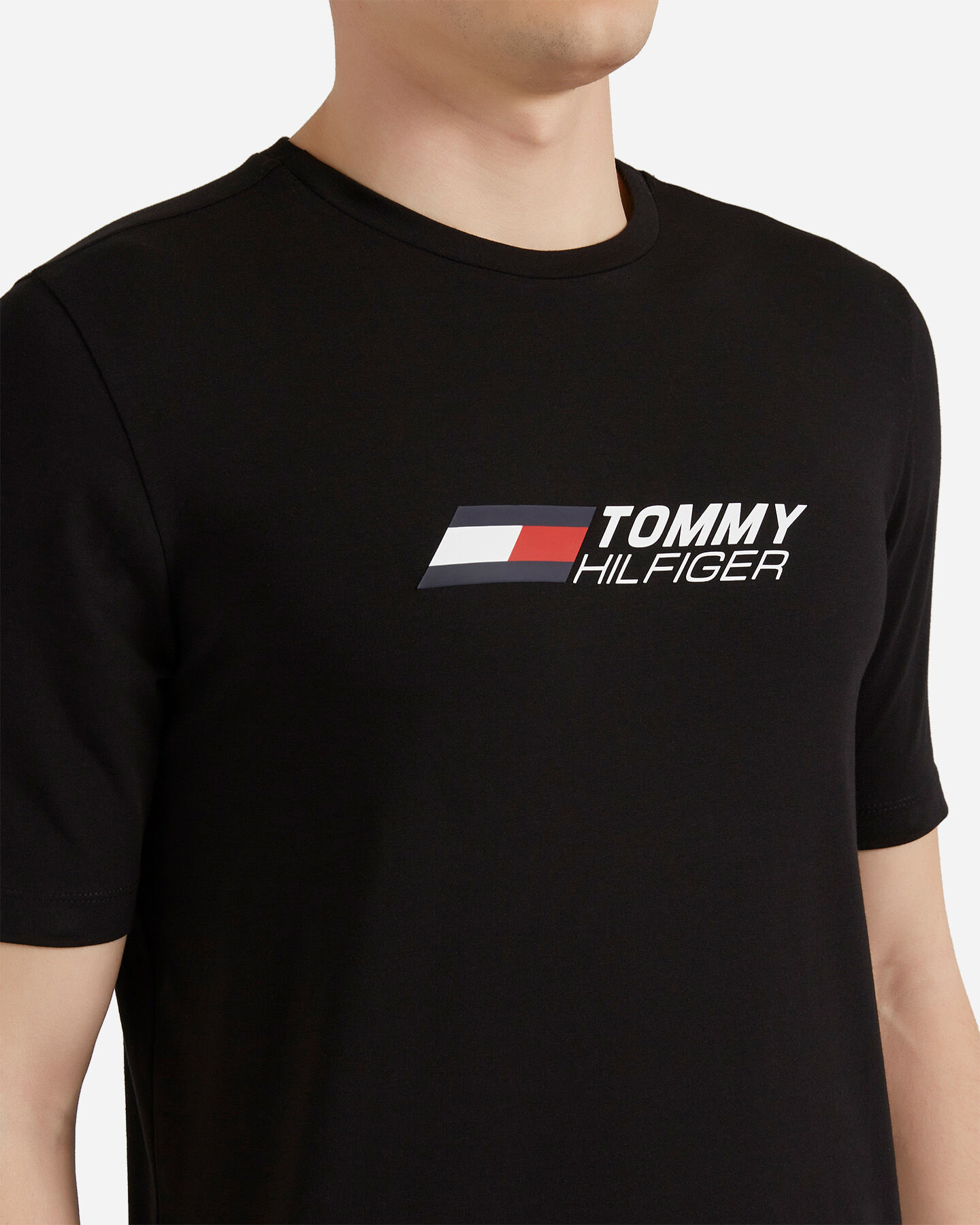 T-Shirt TOMMY HILFIGER SMALL LOGO M S4089506 scatto 4