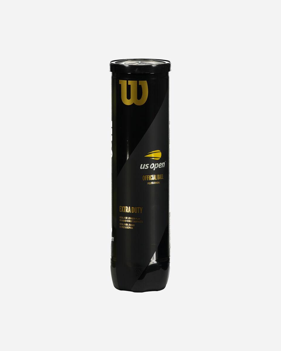 Palle tennis WILSON TUBO 4 PALLE US OPEN S1282037|UNI|4 scatto 0
