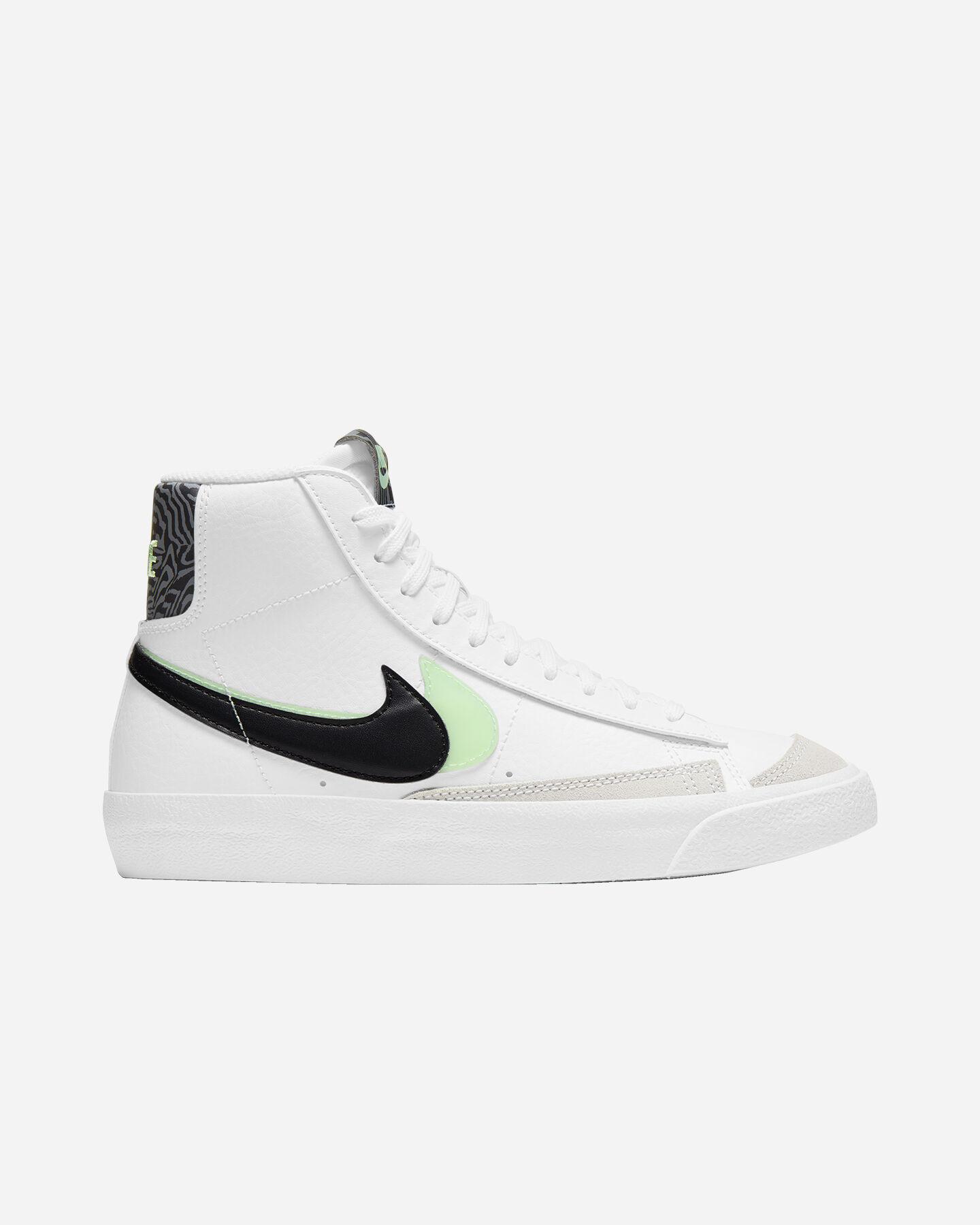 Scarpe sneakers NIKE BLAZER MID '77 SE JR GS S5270466 scatto 0