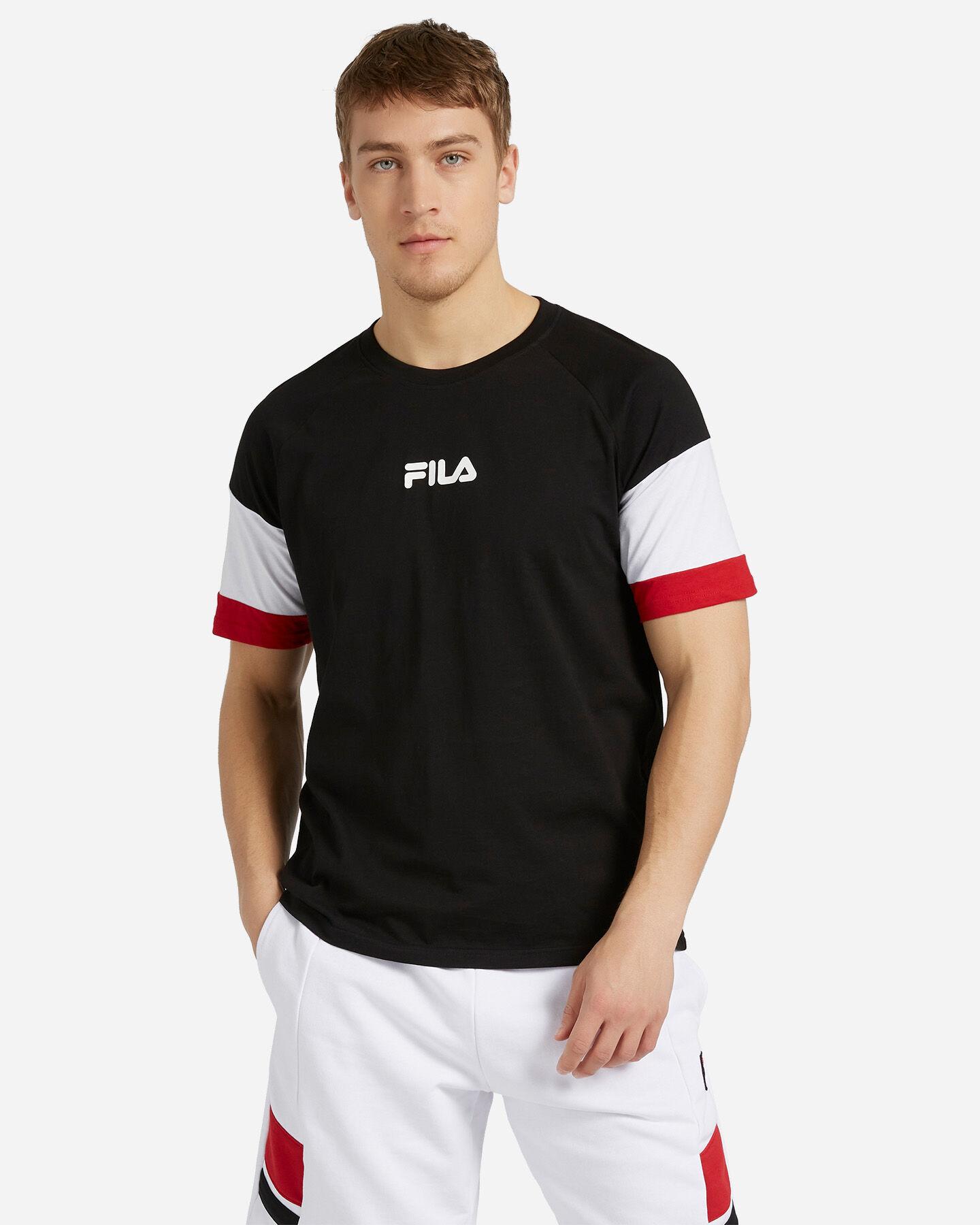 T-Shirt FILA NEW COLOR BLOCK M S4088467 scatto 0