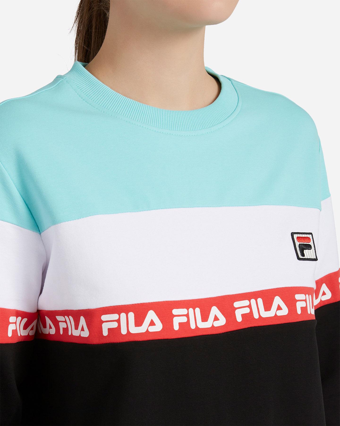 Felpa FILA COLOR BLOCK W S4088293 scatto 4
