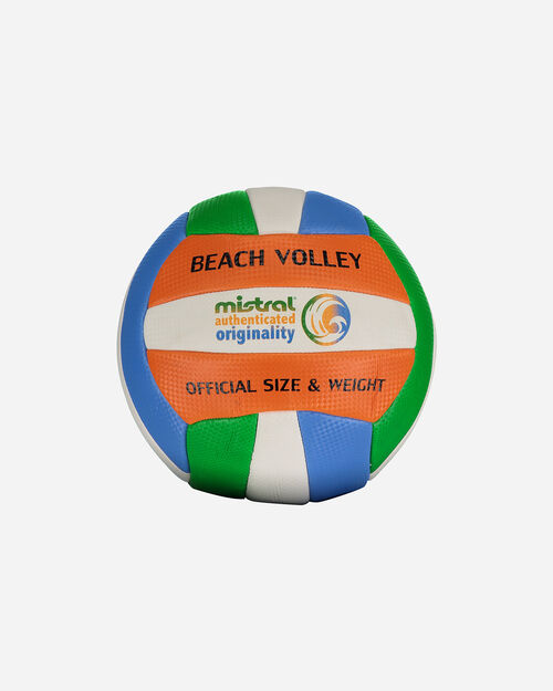 Pallone volley MISTRAL BEACH VOLLEY RAINBOW III MIS.4