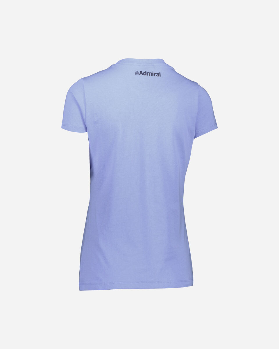 T-Shirt ADMIRAL BIG LOGO VARSITY W S4087705 scatto 1