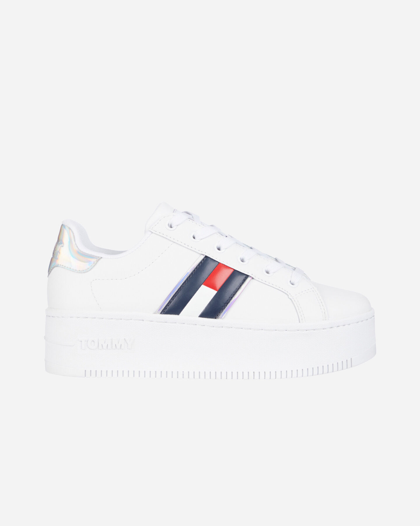 Scarpe sneakers TOMMY HILFIGER IRIDESCENT ICONIC W S4088120 scatto 0