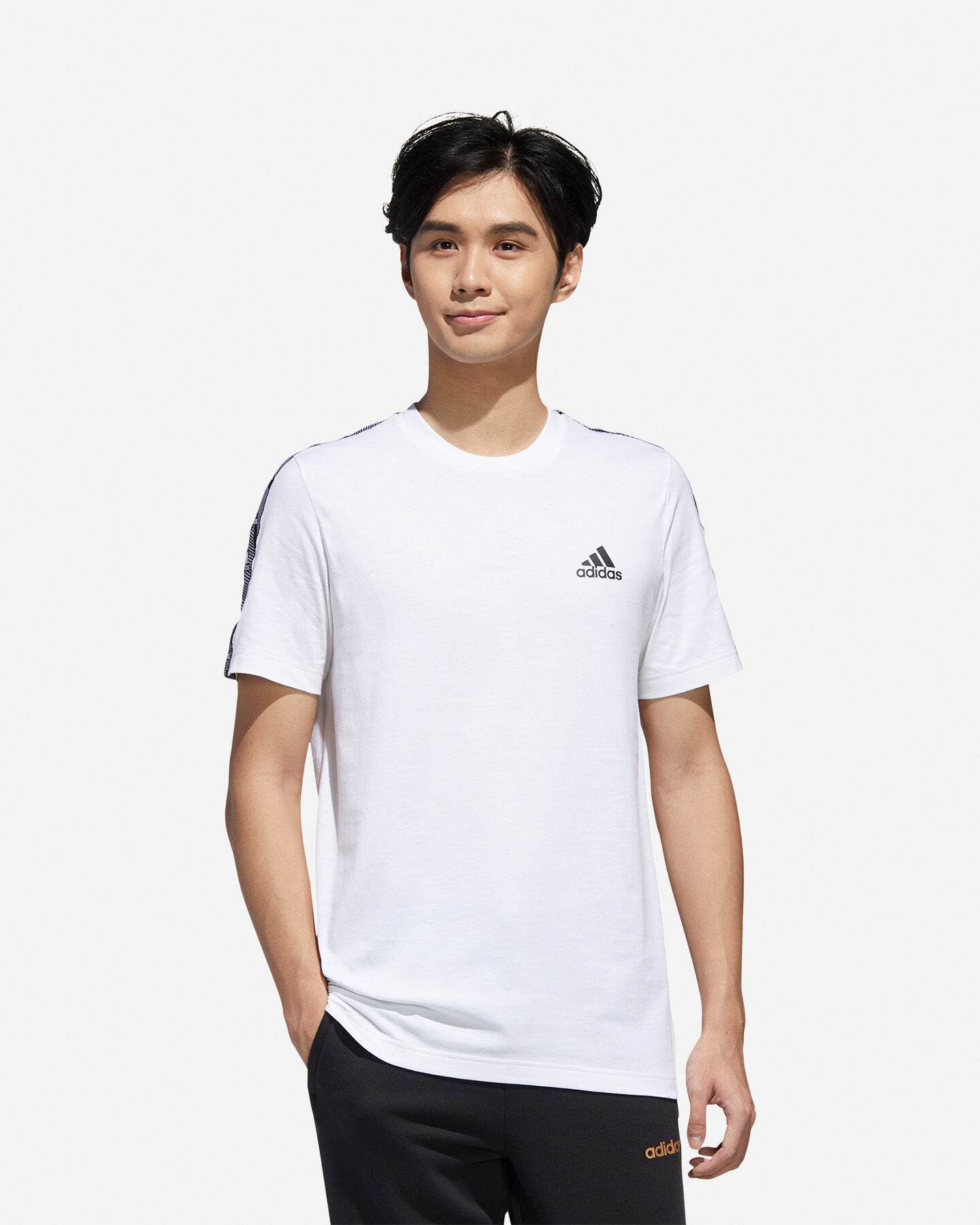 T-Shirt ADIDAS SMALL LOGO M S5211187 scatto 2