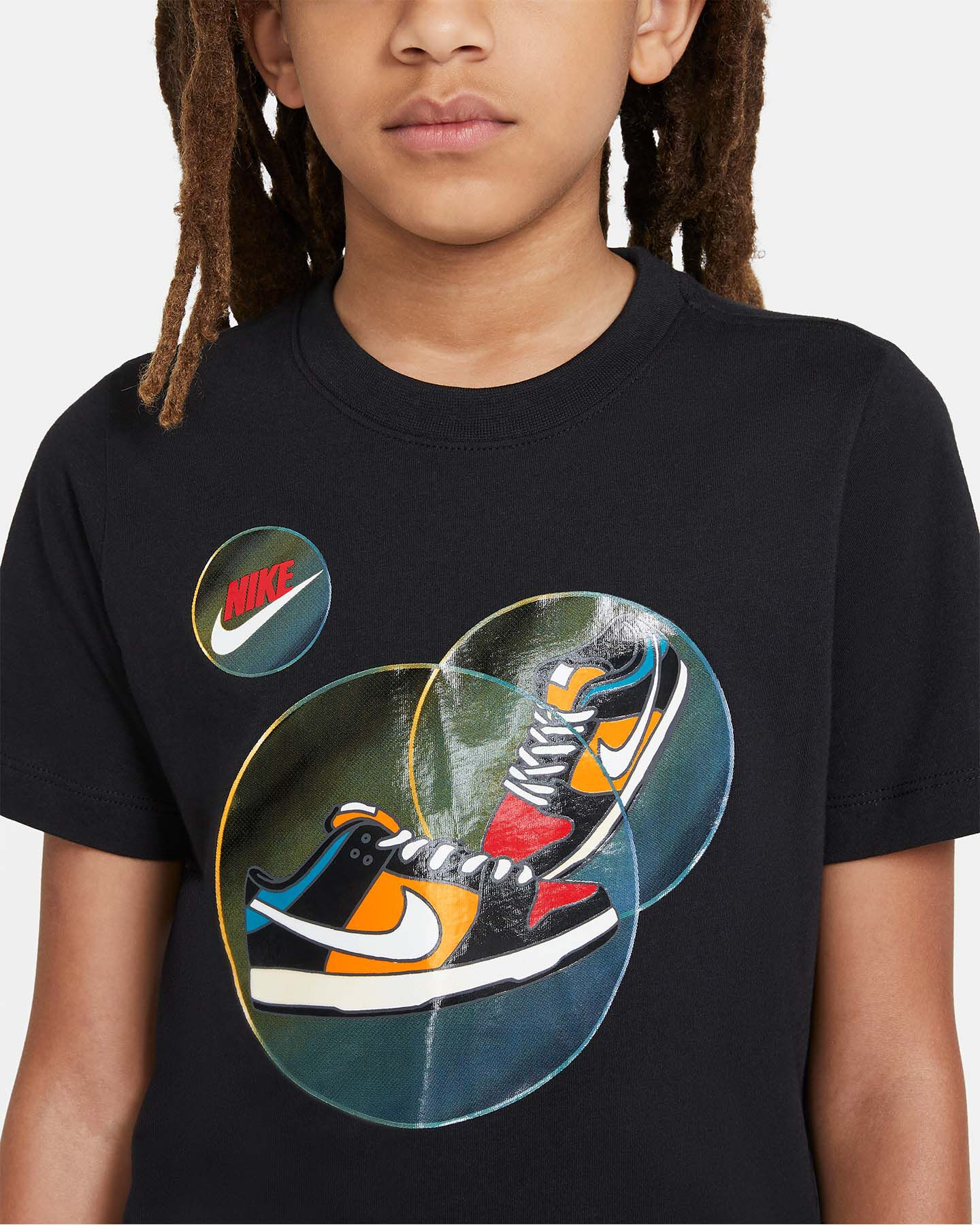 T-Shirt NIKE BUBBLE JR S5270250 scatto 2
