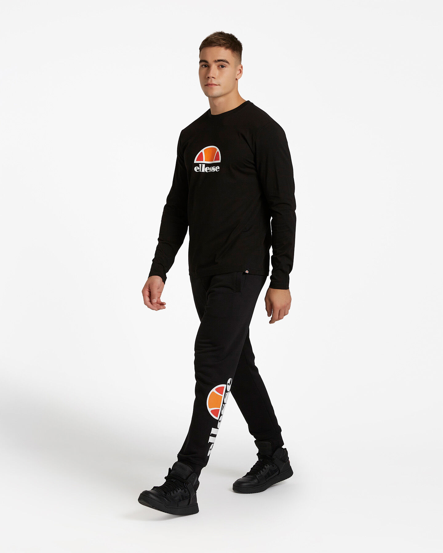 T-Shirt ELLESSE ML SMALL LOGO M S4081214 scatto 3