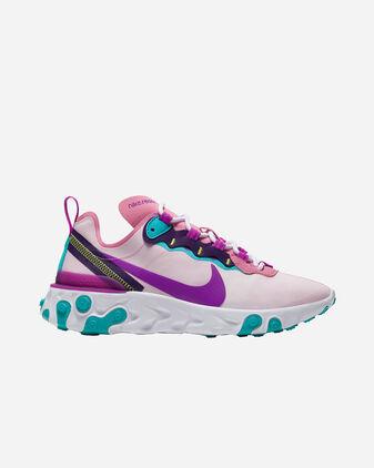 Scarpe sneakers NIKE REACT ELEMENT 55 W