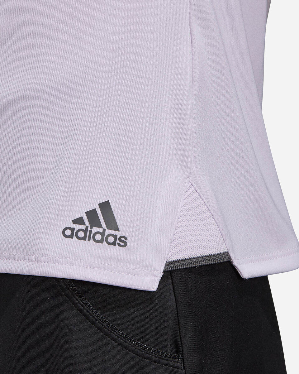 T-Shirt tennis ADIDAS 3-STRIPES CLUB W S5155173 scatto 5