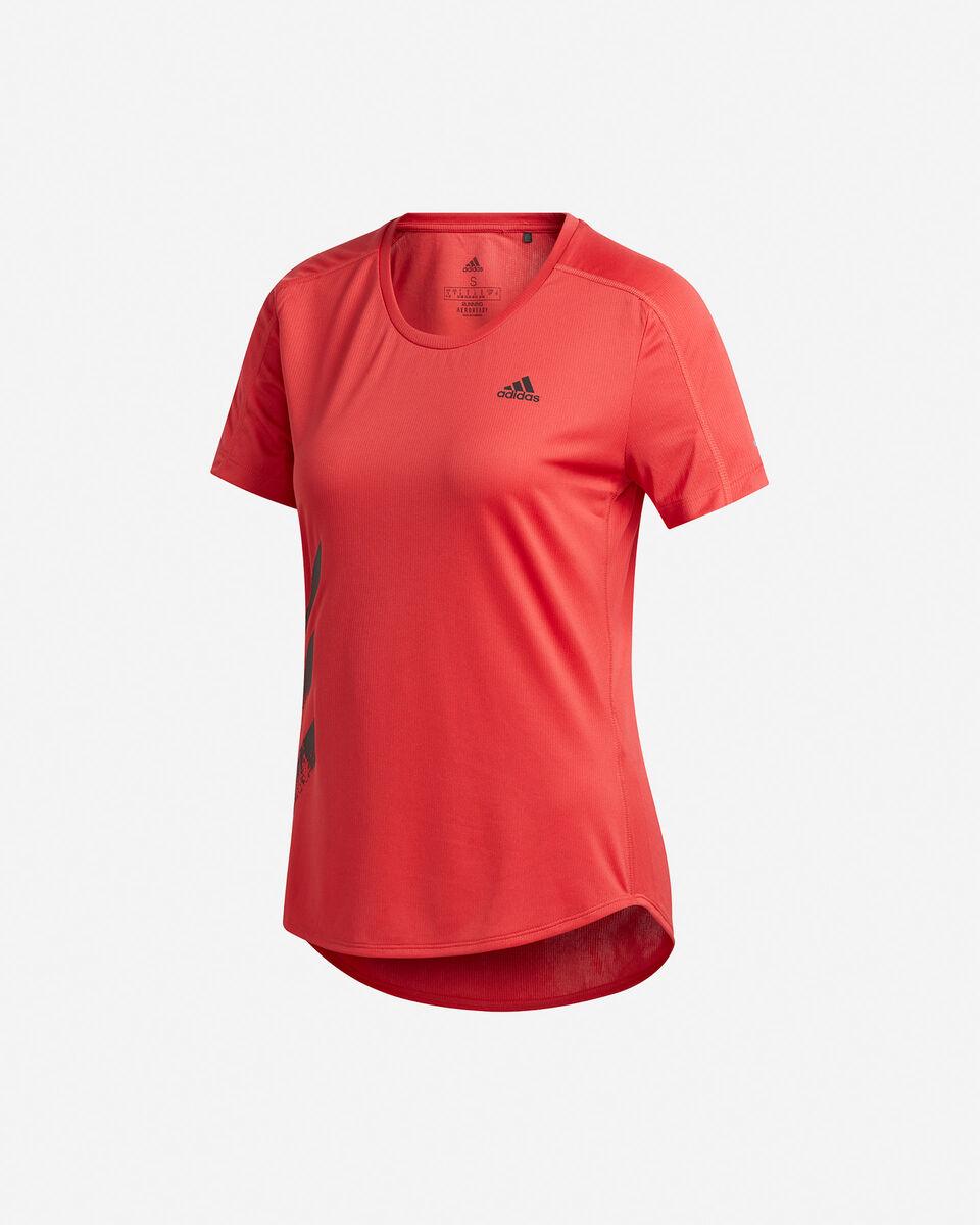 T-Shirt running ADIDAS RUN IT 3-STRIPES FAST W S5150018 scatto 0