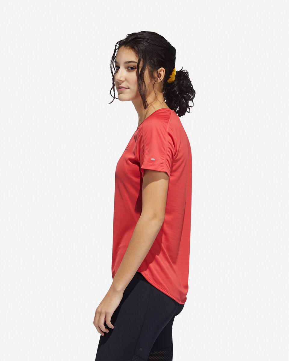 T-Shirt running ADIDAS RUN IT 3-STRIPES FAST W S5150018 scatto 3
