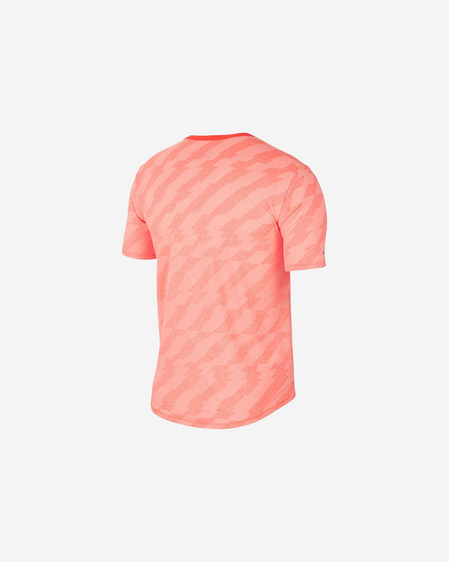 T-Shirt running NIKE DRI-FIT MILER FUTURE FAST M S5225520 scatto 1