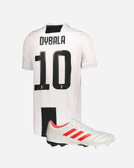 JUVENTUS  adidas SET DYBALA HOME 18/19 + SCARPA COPA 19.3 FG