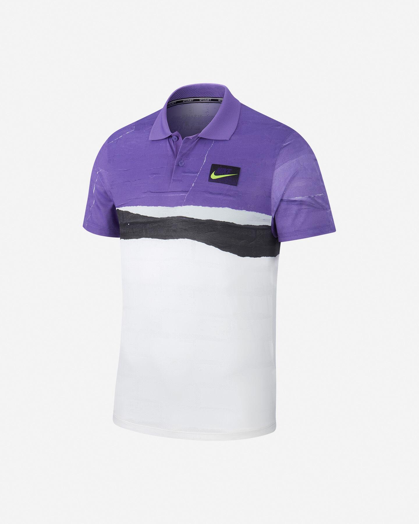 Polo Tennis Nike Court Advantage M AT4155-550 | Cisalfa Sport
