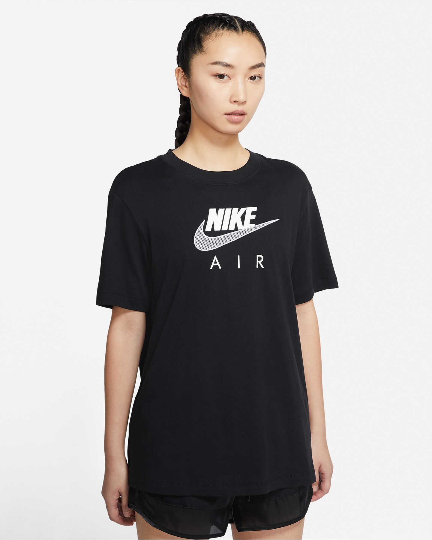 T-Shirt NIKE LONG AIR W S5267655 scatto 0