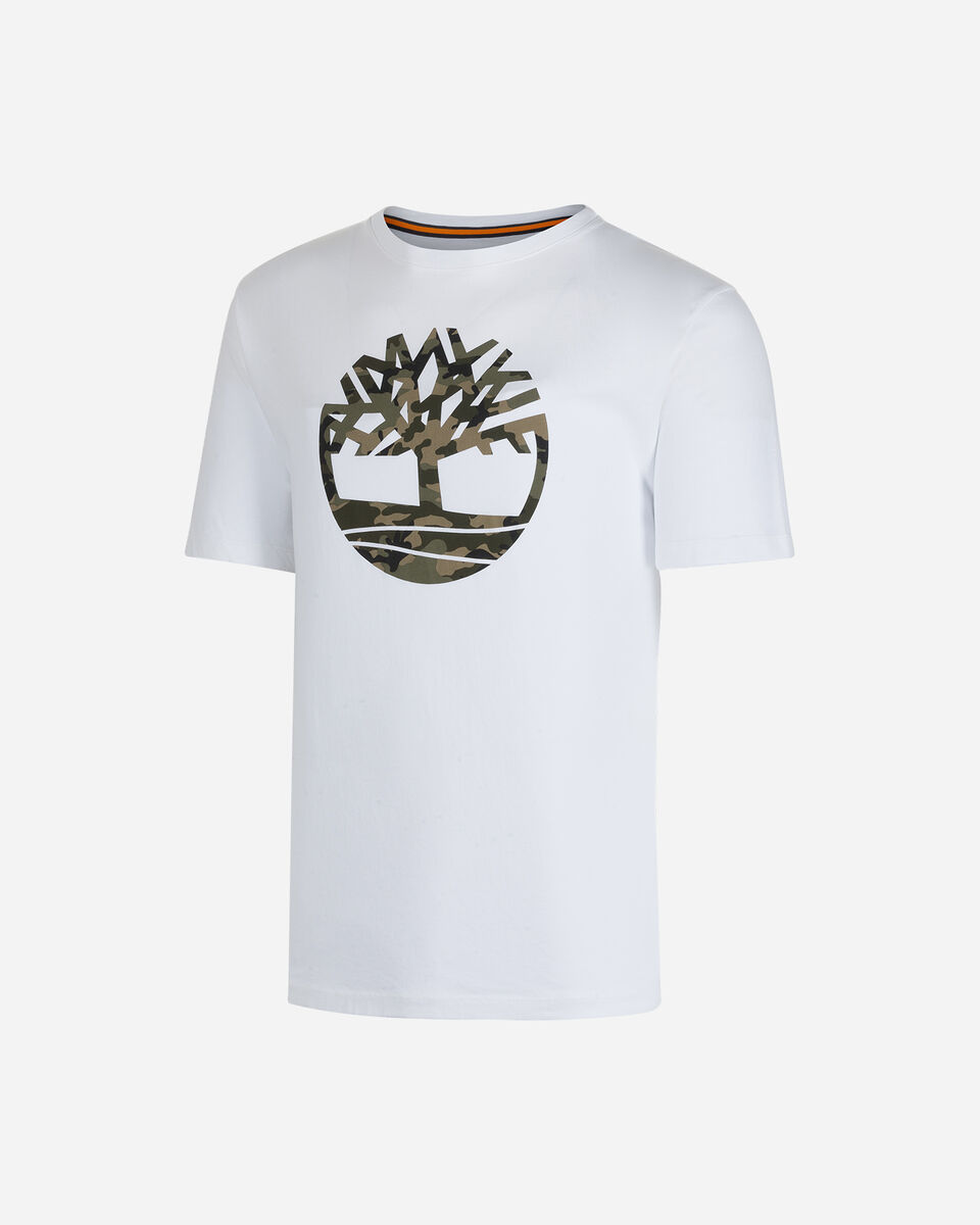 T-Shirt TIMBERLAND MC KENNEBEC M S4083668|1001|L scatto 0