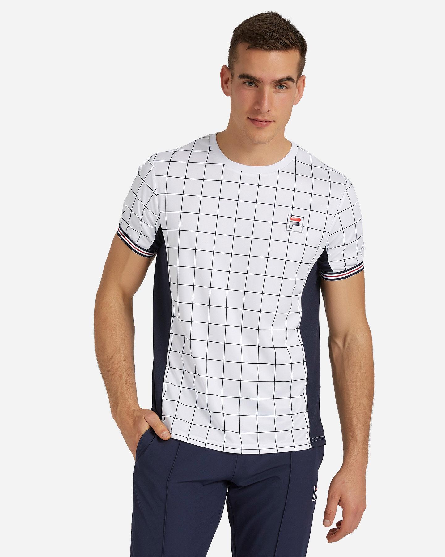 T-Shirt tennis FILA TENNIS HERITAGE M S4075791 scatto 0