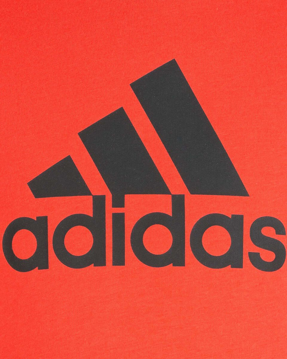 T-Shirt ADIDAS BIG LOGO JR S5211708 scatto 2