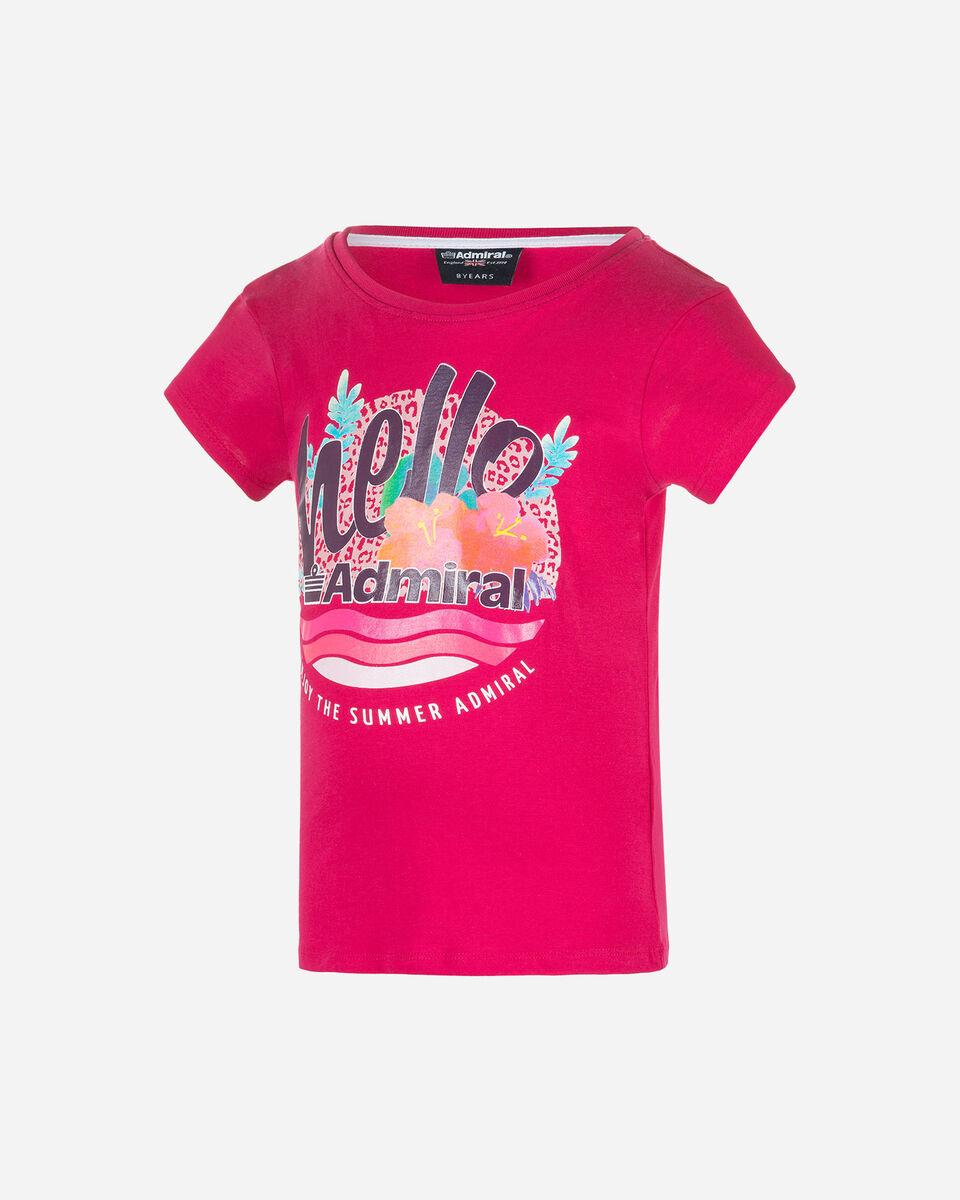 T-Shirt ADMIRAL HELLO JR S4077515 scatto 0