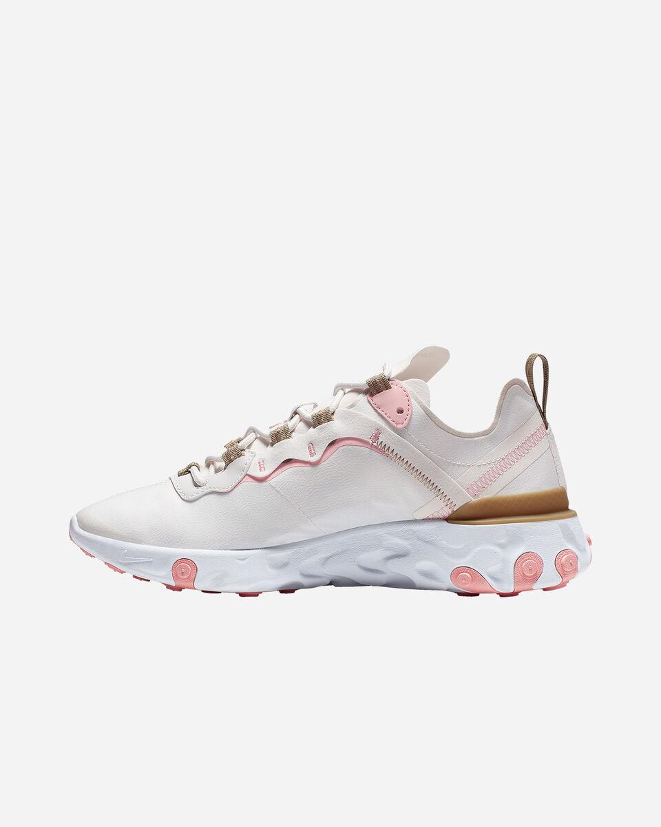 Scarpe sneakers NIKE REACT ELEMENT 55 W S5197490 scatto 5