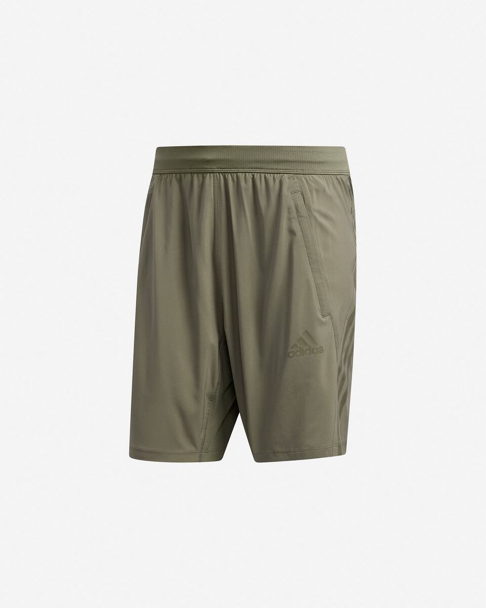 Pantalone training ADIDAS AEROREADY 3-STRIPES 8-INCH M S5154649 scatto 0