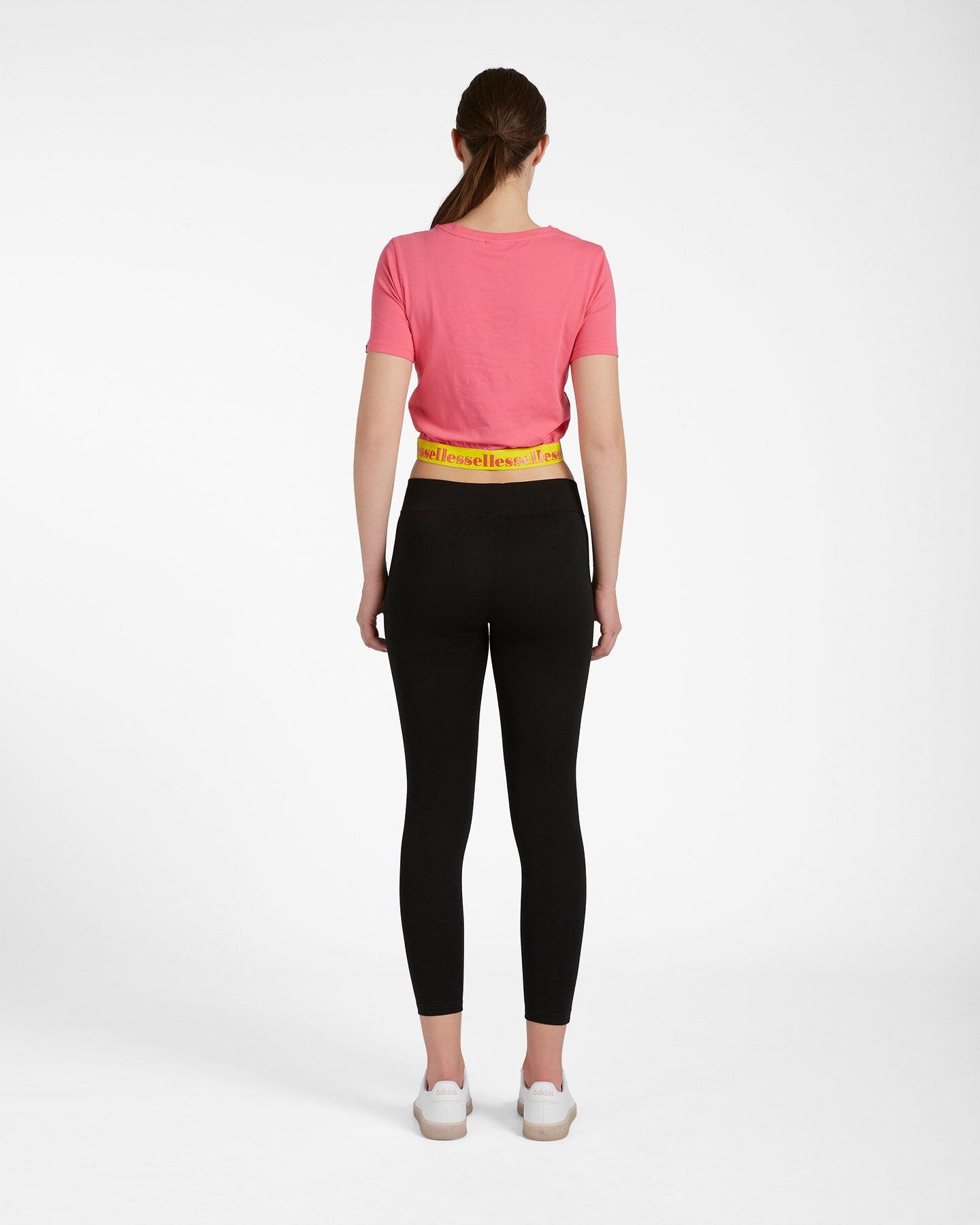T-Shirt ELLESSE CROP ELASTIC W S4087993 scatto 2