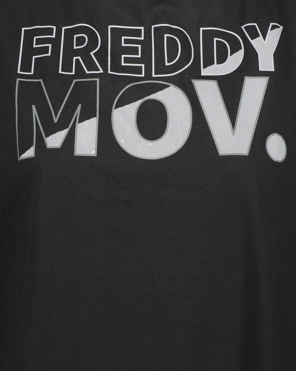 T-Shirt training FREDDY BIG LOGO MOV W S5183526 scatto 2