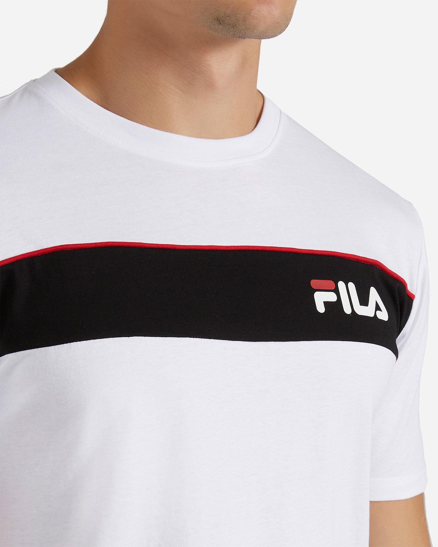 T-Shirt FILA SM LOGO M S4080445 scatto 4
