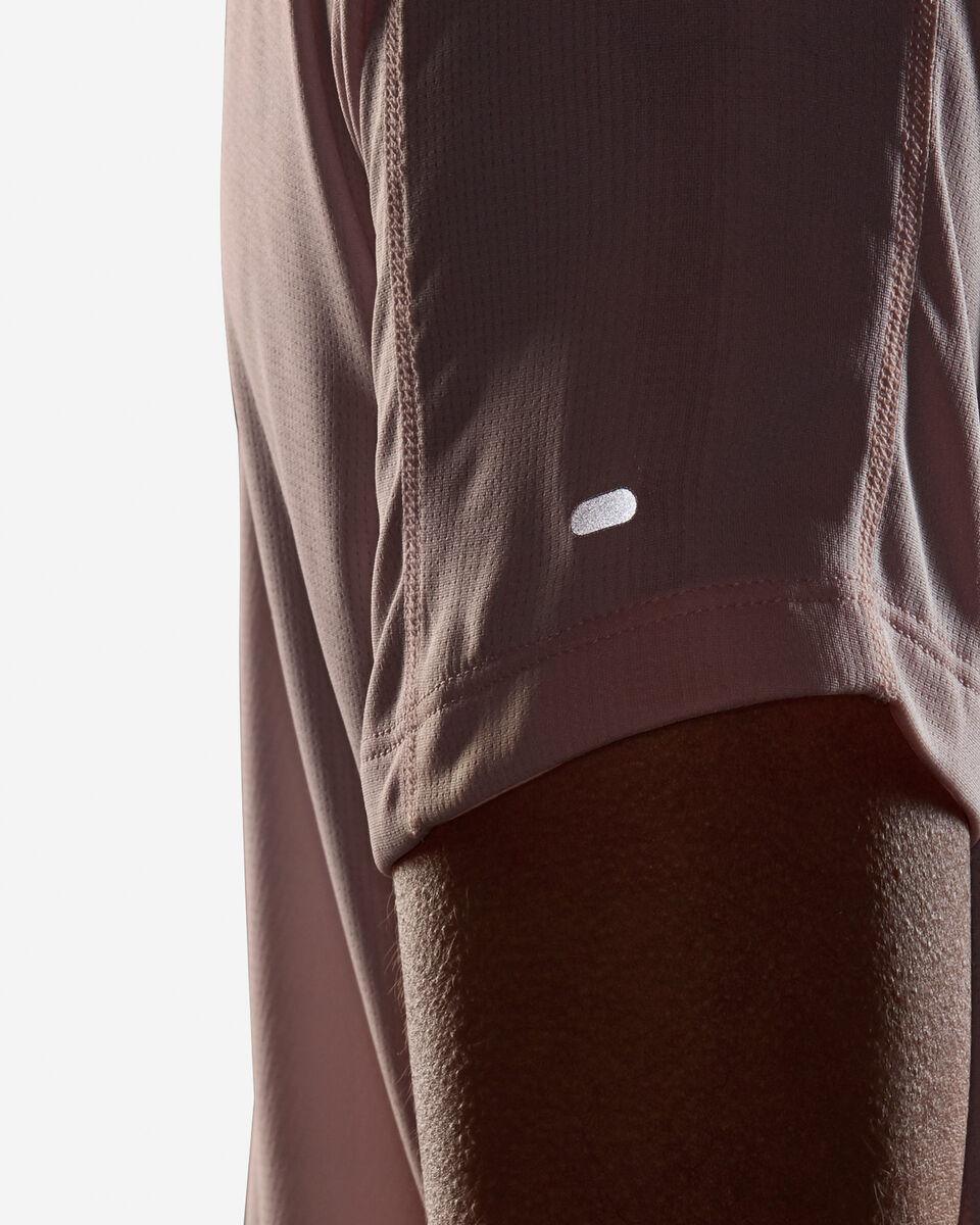 T-Shirt running ADIDAS RUN IT 3 STRIPES W S5210001 scatto 5