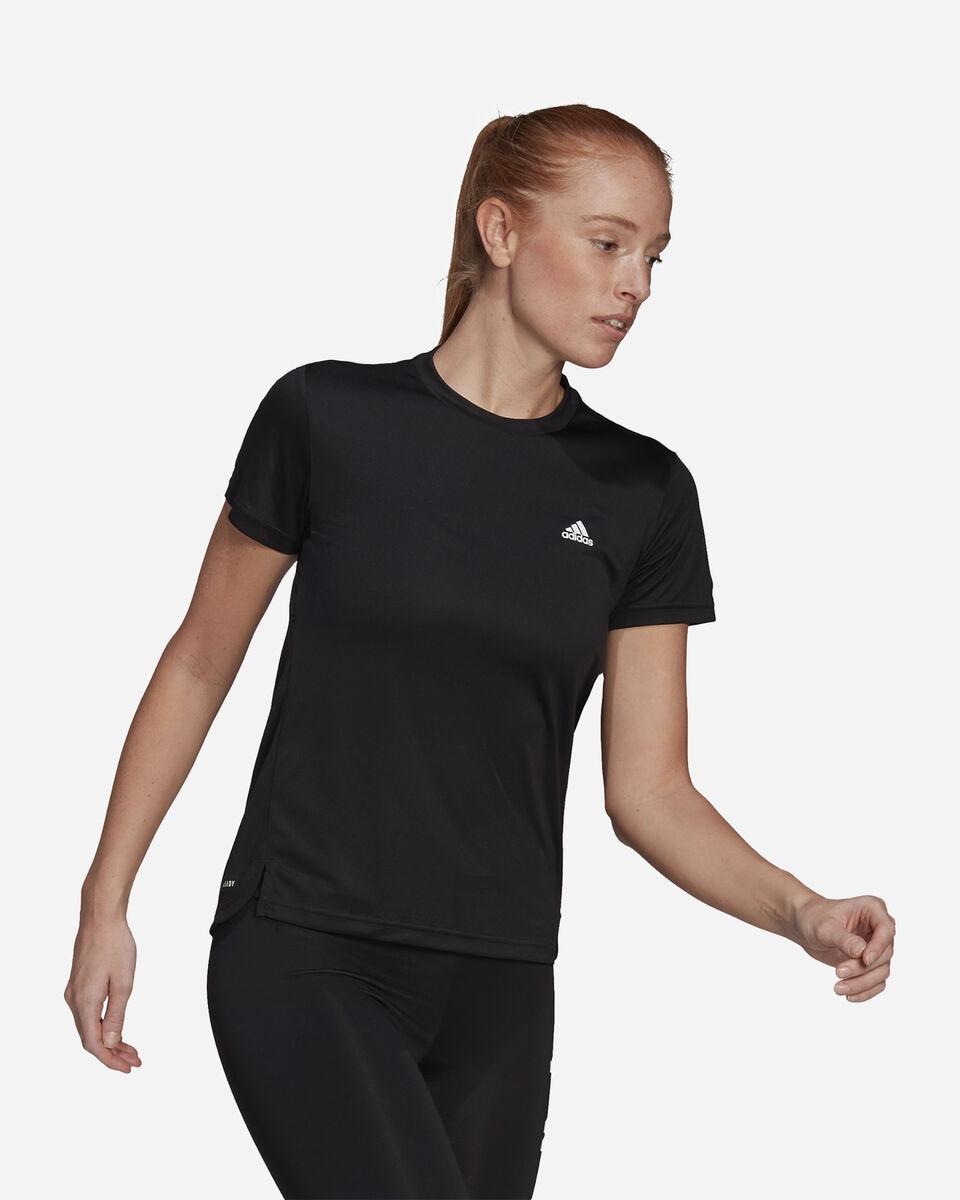 T-Shirt training ADIDAS 3 STRIPES W S5274934 scatto 3
