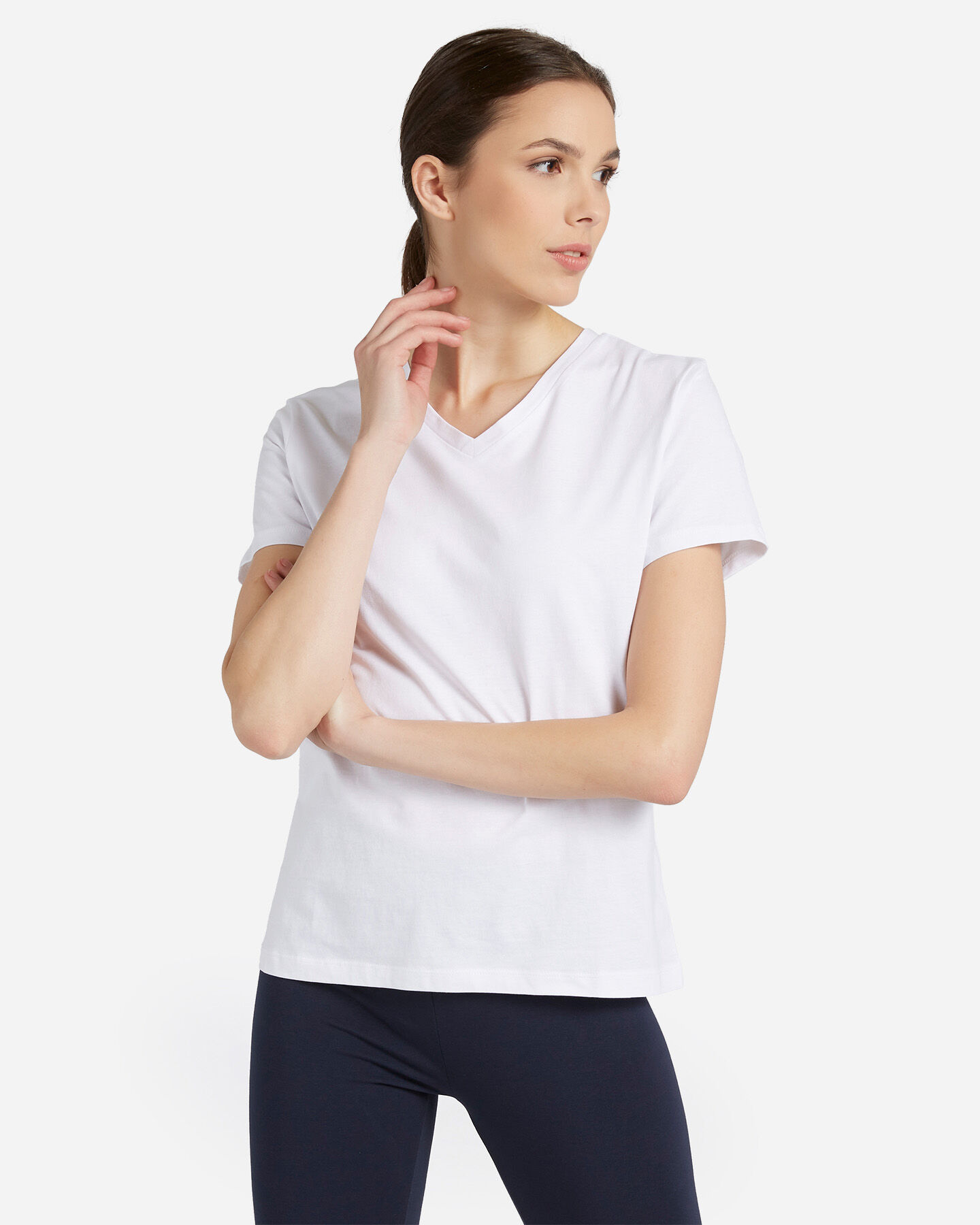 T-Shirt ABC JERSEY W S5296342 scatto 0