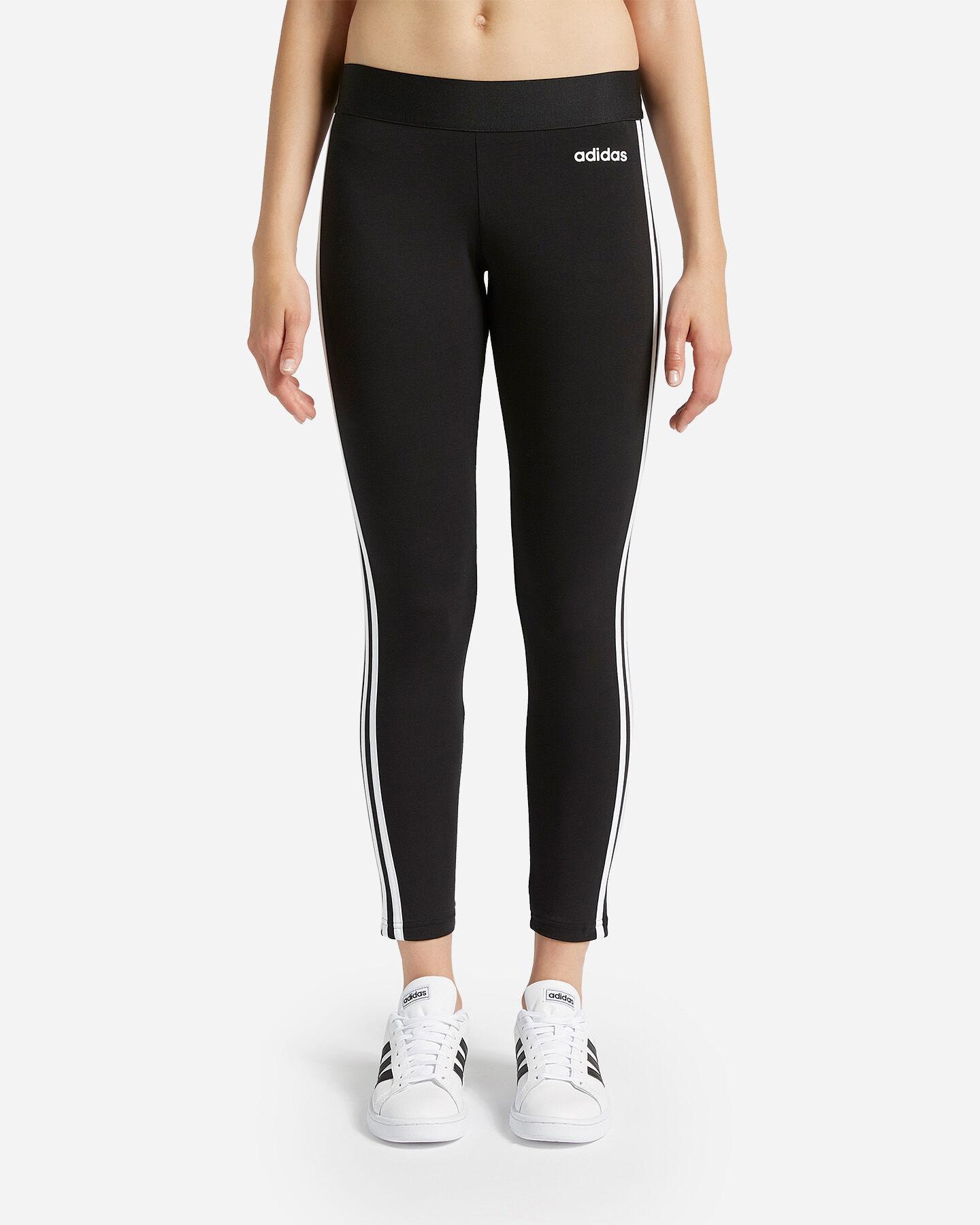 Leggings ADIDAS ESSENTIALS 3 STRIPES W S4056278|UNI|M scatto 0