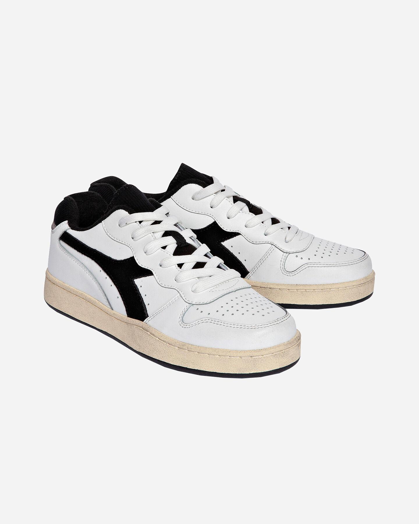 Scarpe sneakers DIADORA USED BASKET LOW M S5171197 scatto 1