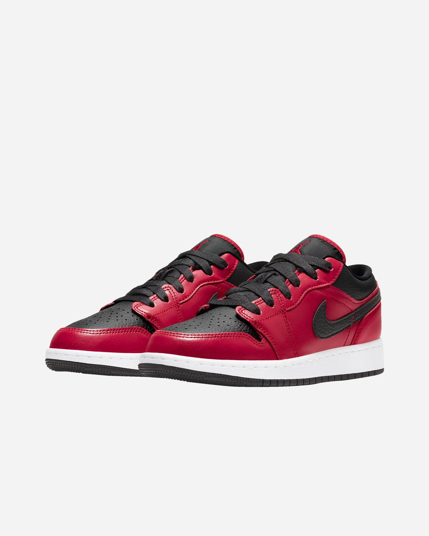 Scarpe sneakers NIKE AIR JORDAN 1 LOW GS JR S5270339 scatto 1