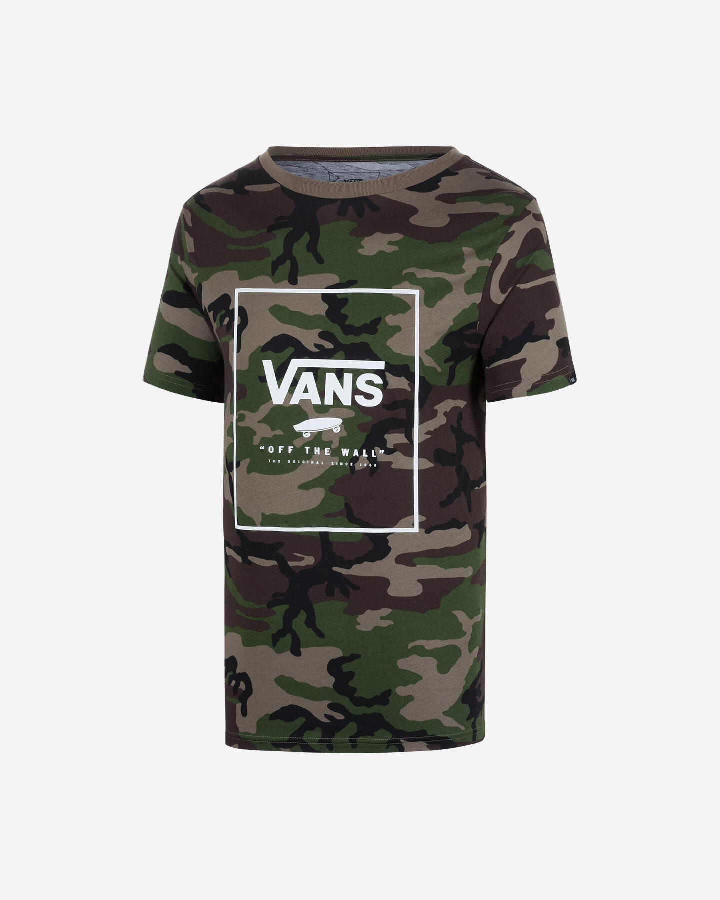 T-Shirt VANS PRINT BOX M S5186650 scatto 0