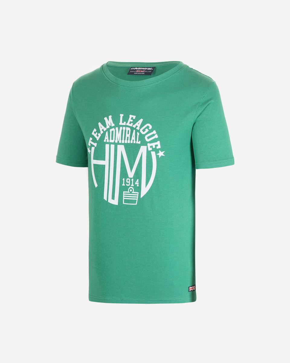 T-Shirt ADMIRAL MC VARSITY M S4080638 scatto 0