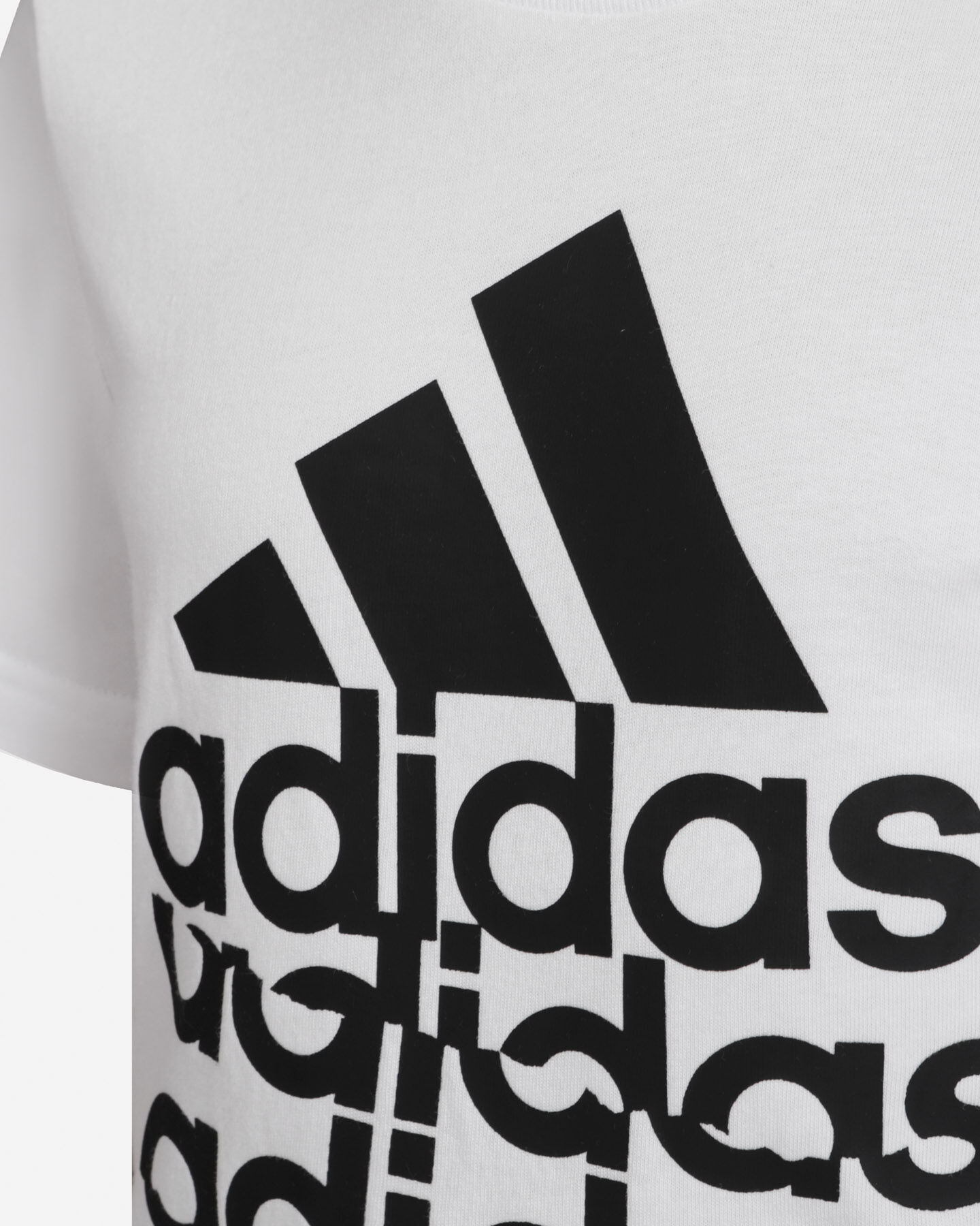T-Shirt ADIDAS YOUNG BADGE OF SPORT JR S5211338 scatto 3