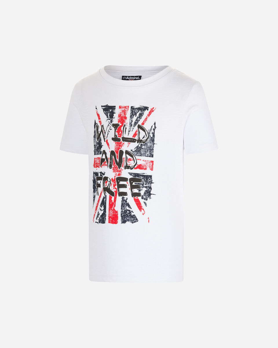 T-Shirt ADMIRAL WILD FREE FLAG JR S4087653 scatto 0