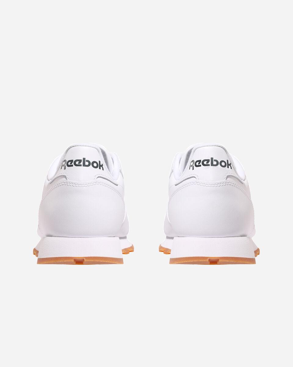 Scarpe sneakers REEBOK CLASSIC LEATHER M S4023267 scatto 4