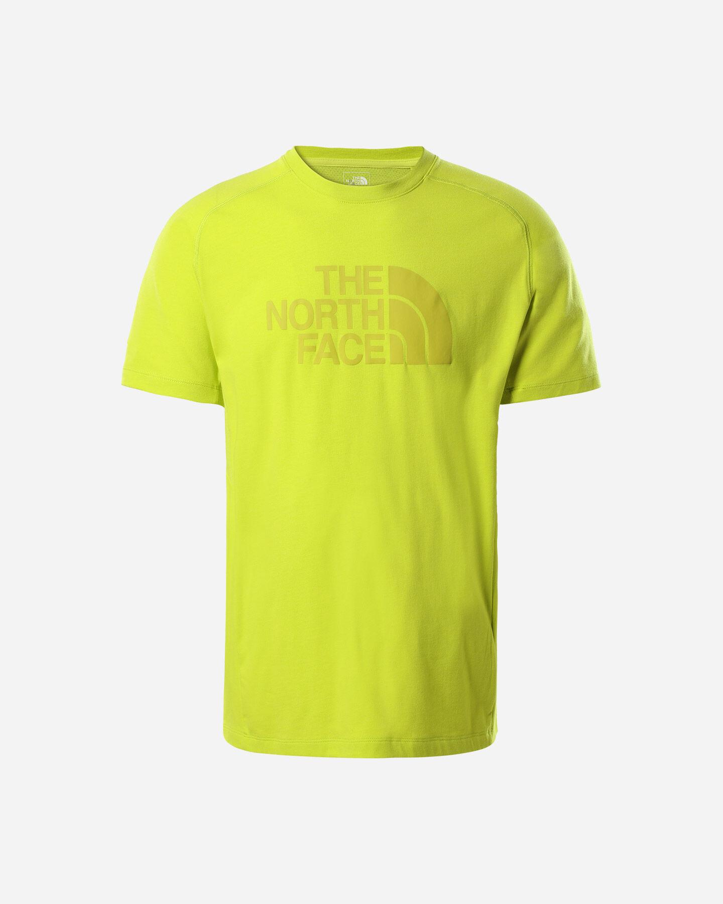 T-Shirt THE NORTH FACE WICKER MID GRAPHIC CREW M S5292342 scatto 0