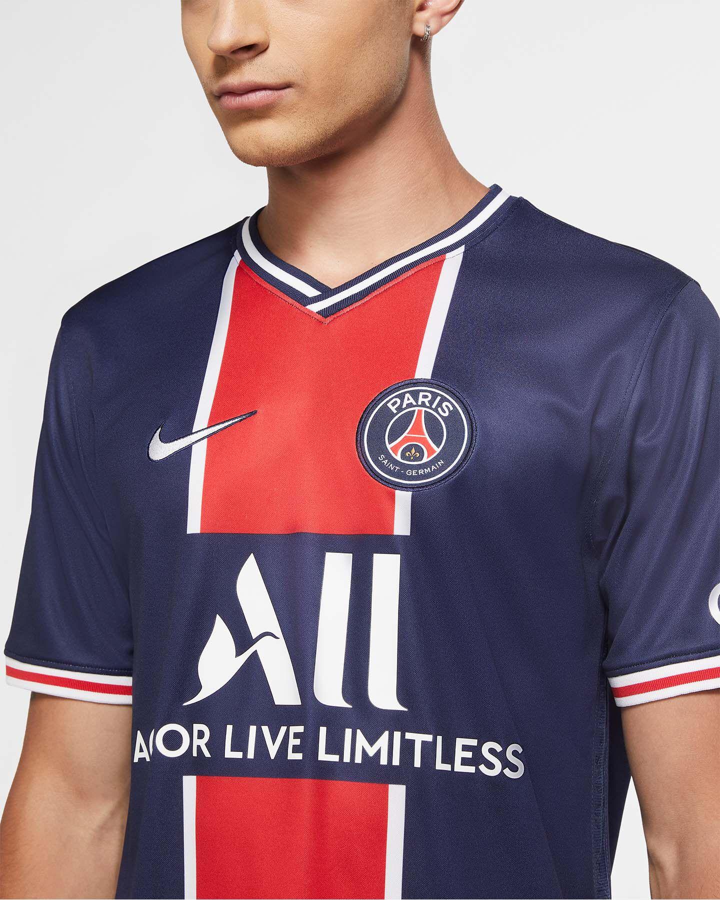 Maglia Calcio Nike Paris Saint-germain Home 20-21 M CD4242-411 ...