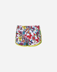 MARE bambina ADMIRAL FLOWER MULTICOLOR SHORTS JR