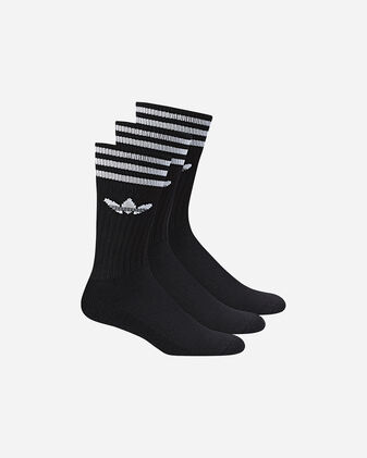 Calze ADIDAS SOLID CREW SOCK 3 PACK M