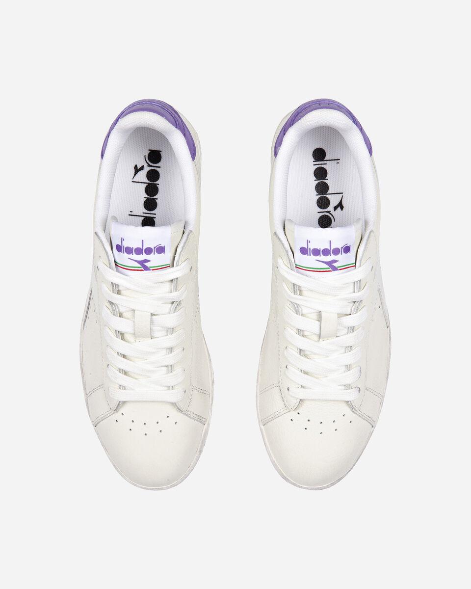 Scarpe sneakers DIADORA GAME L LOW WAXED W S5171105 scatto 3