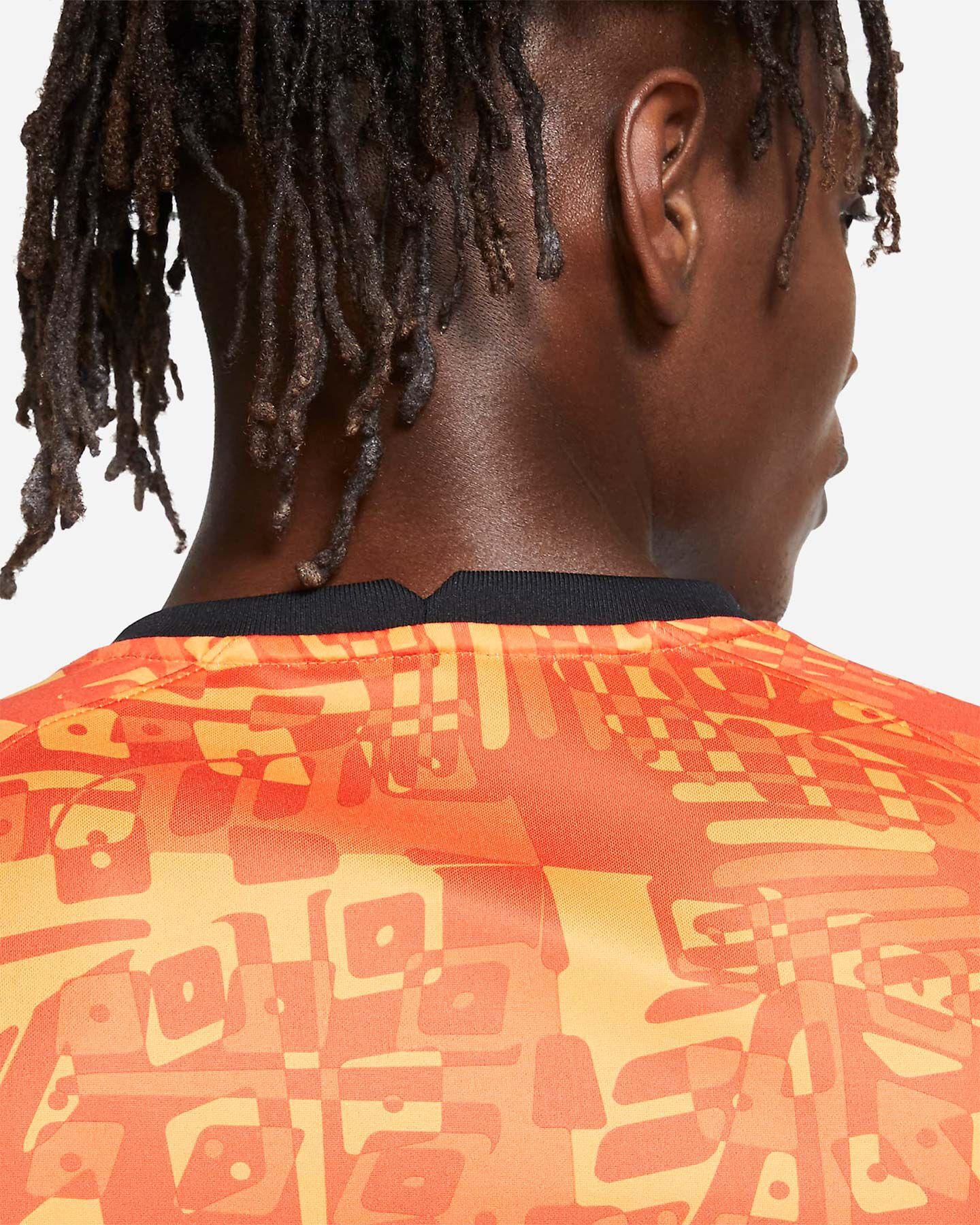 Abbigliamento calcio NIKE ROMA PRE-MATCH 20-21 M S5225152 scatto 4